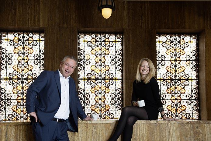 Dian Brouwer en Nienke Smeets